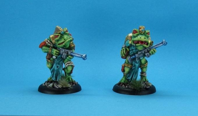 painted phrogg troopers