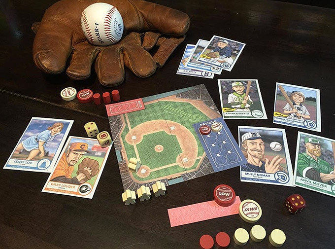 Bottom Of The 9th A Dice Card Game Of Classic Baseball By Dice