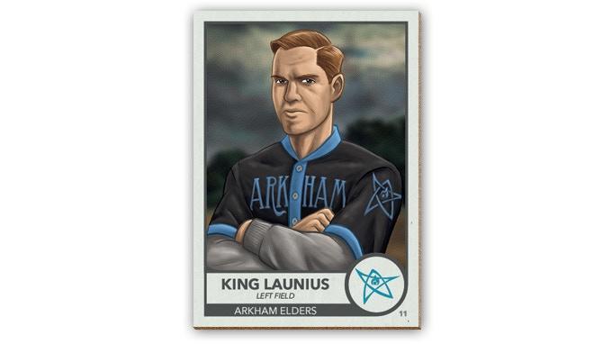 The man, the myth, the legend - Richard Launius, ace fielder.