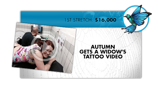 UNLOCKED!!! - Witness series writer and cosplay model extraordinaire as she recreates Mike Debalfo's peek-a-boo cover as only she can. In tattoo style!