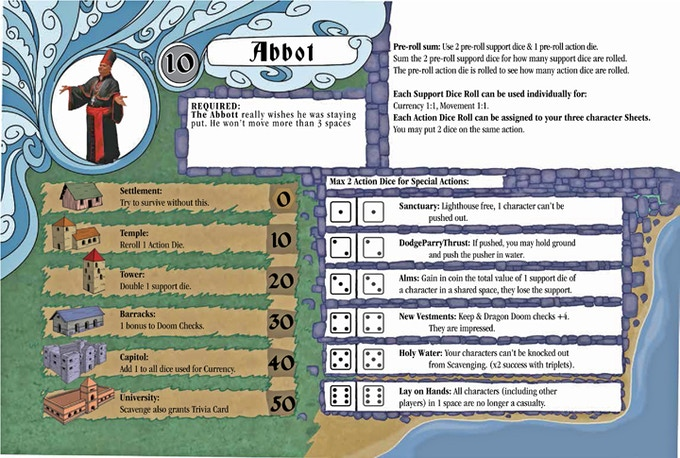 The Abbot Player Sheet