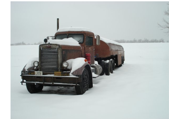 The surviving DUEL truck hibernating... Waiting for us.