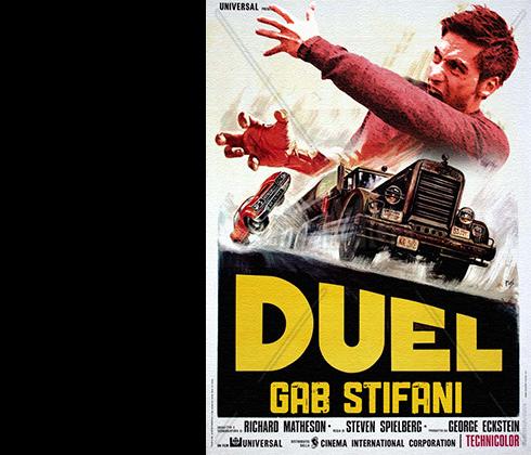 GABRIELLE STIFANI, Italy. Duel Fan.