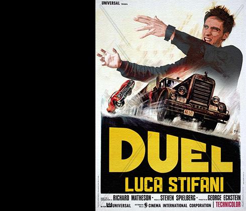 LUCA STIFANI, Italy. Duel Fan.