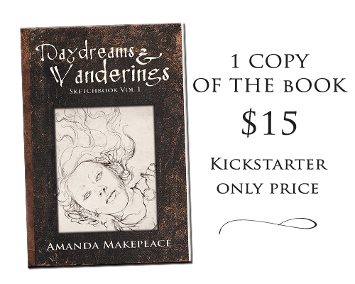 Outside Kickstarter the book will cost $20.00.