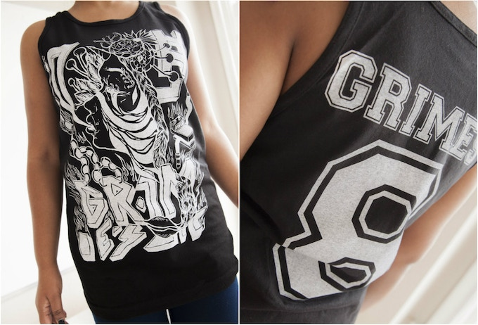 Get this beautiful original artwork tank top by Grimes. Hurry: supply limited.