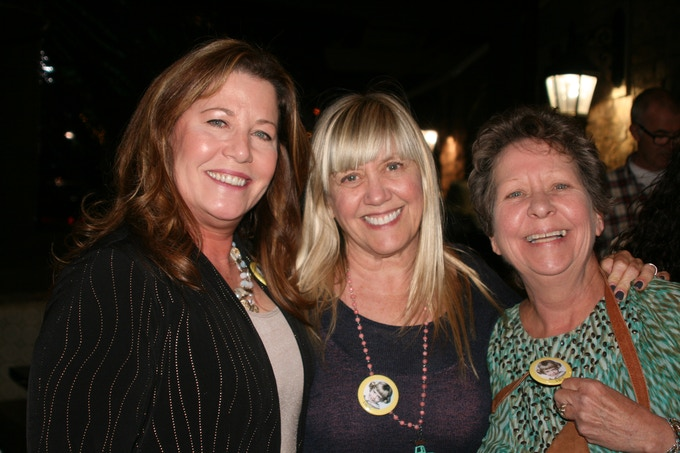 from the Launch Party...my two good friends from 3rd Grade..Erika and Suzy..can u find us in the photo above?