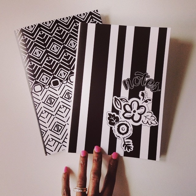 Monochrome Notebook Set