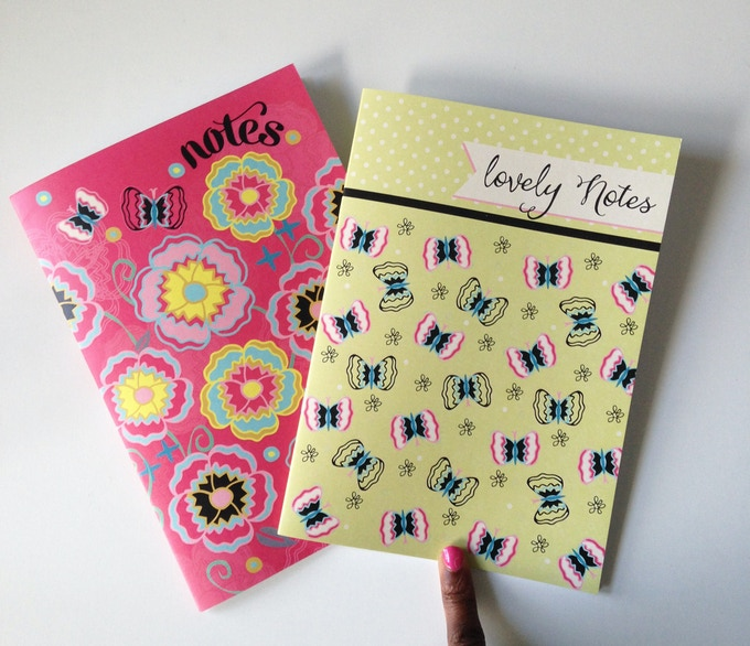 Flutter By Butterfly & Full Bloom Notebooks
