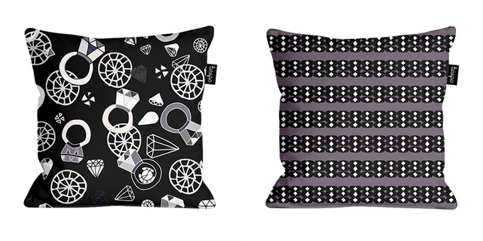 Bling Rings & Spot On Cushion Covers