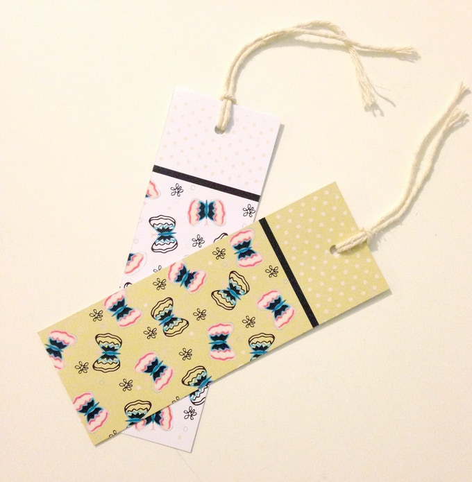 Pretty Patterned Bookmarks