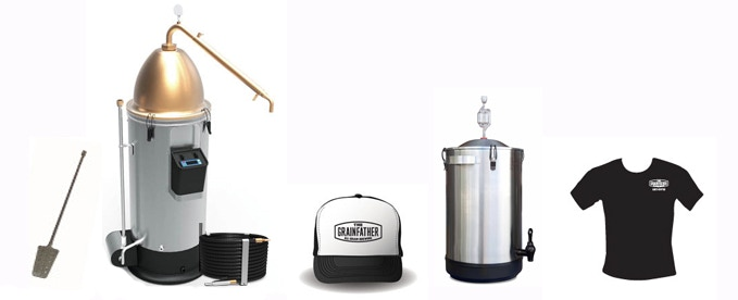 Grainfather & Alembic Complete Setup