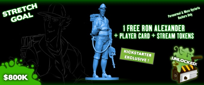 Paranormal and Mass Hysteria Backers Only. Sculpt and color not final.