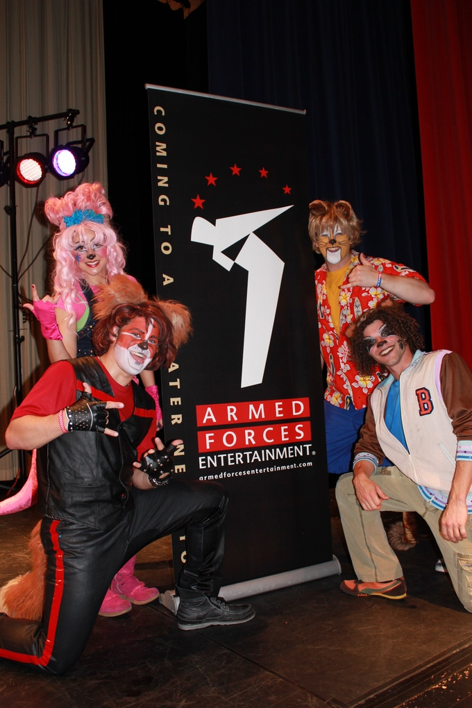 The Party Animals on tour with AFE