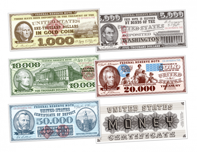 $1.14 million of beautiful paper money