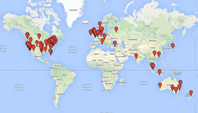 Backer Map