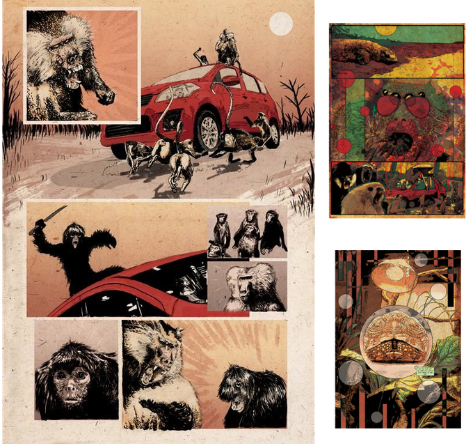Pages from Beast Wagon #1