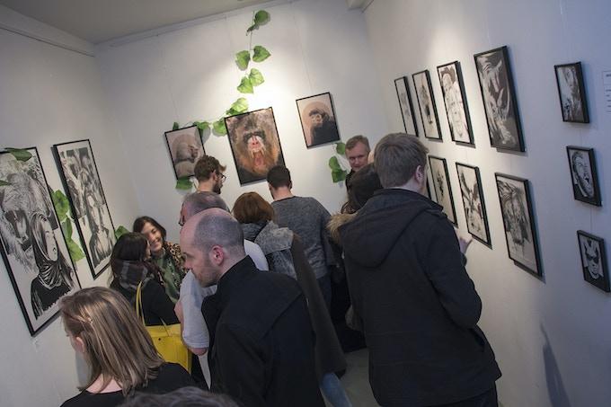 Incentive Original Art currently exhibited in Orbital Comics London