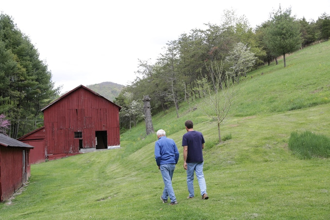 Nelson and his Dad return to their old family farm in Virginia in PlantPure Nation.