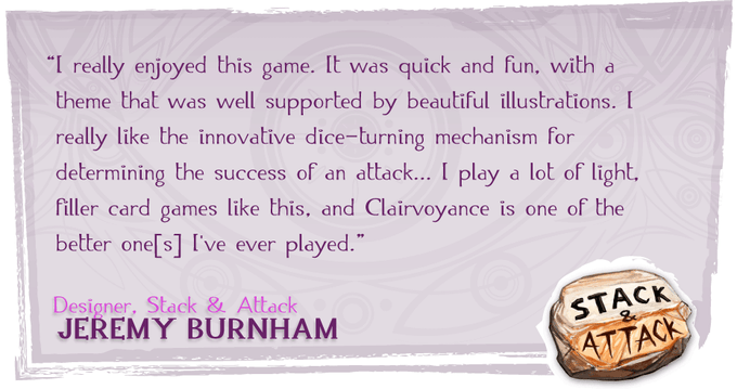 Click here to see Jeremy Burnham's comments on Board Game Geek.