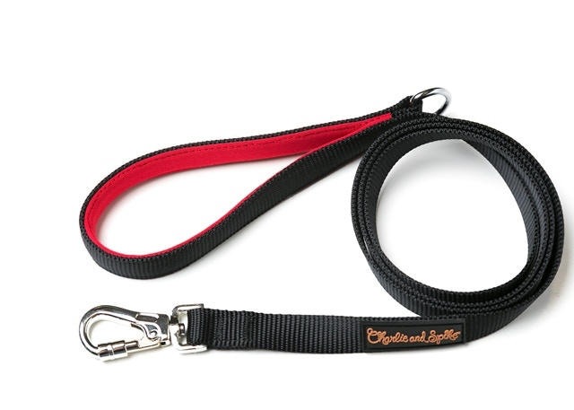red handled leash