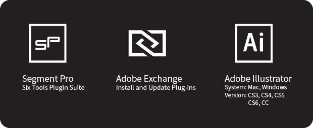 Adobe Illustrator Segment Pro Plugin Suite 2 0 by Stefan