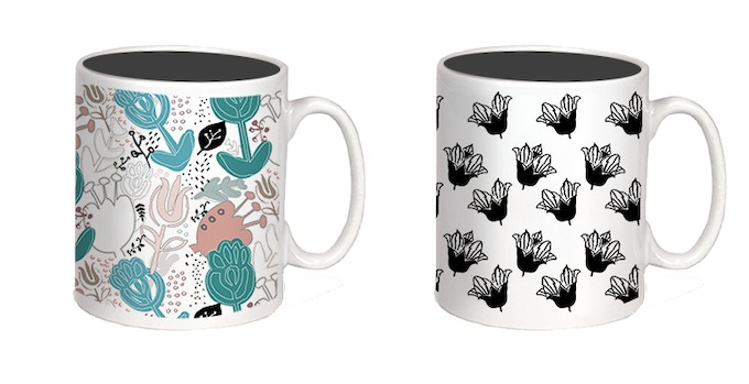 Pretty Mugs Available in Any Design