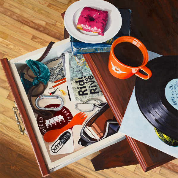 """Boise Junk Drawer"" by local artist Betsie Richardson"