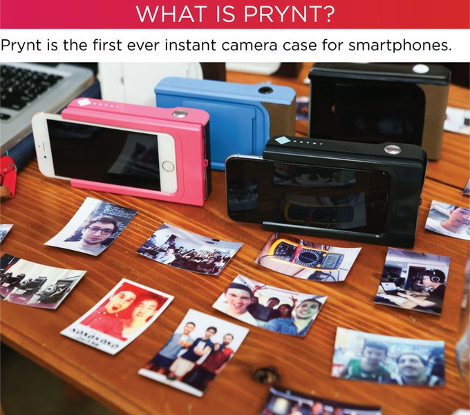 the best attitude 2bb05 0f504 Prynt: the first instant camera case for iPhone and Android by Prynt ...