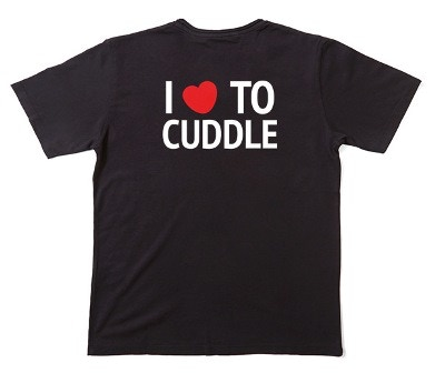 I 'heart' To Cuddle Adult T-Shirt