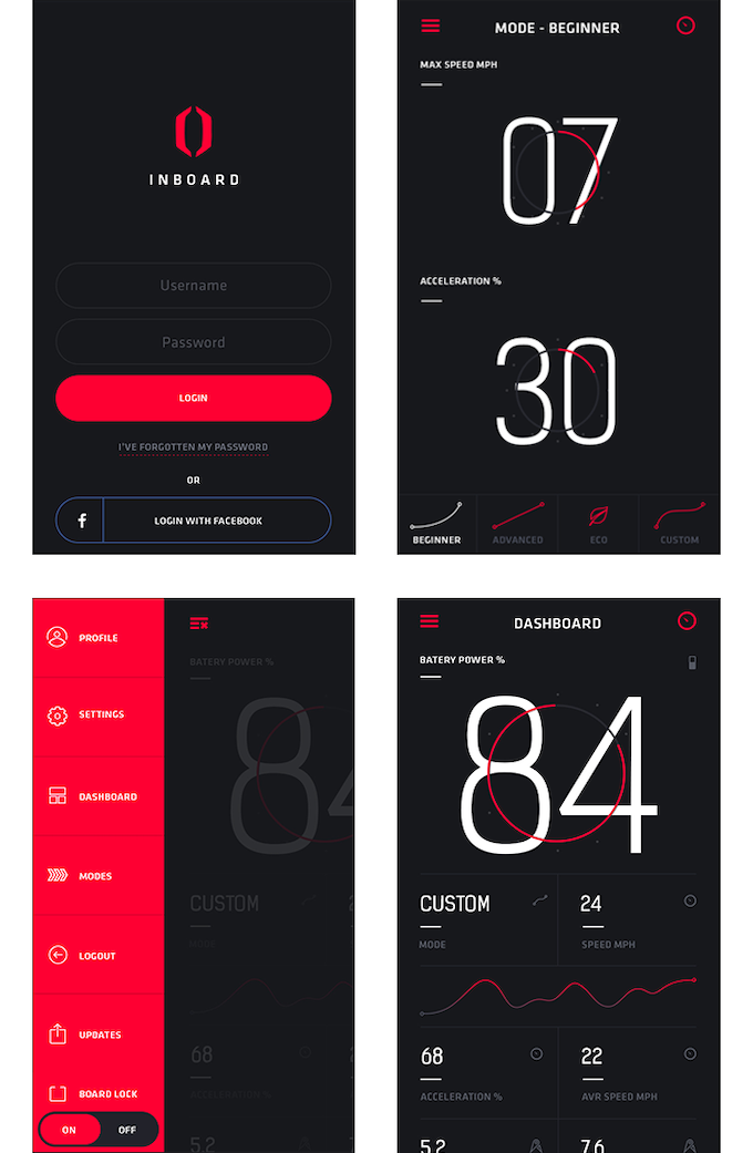 Preview of Inboard Vision - Mobile App