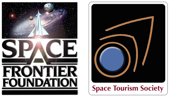 Many thanks to the Space Frontier Foundation and the Space Tourism Society for their support!
