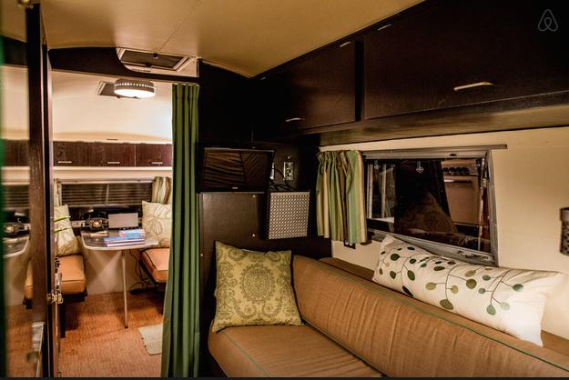 Interior Tao's Airstream
