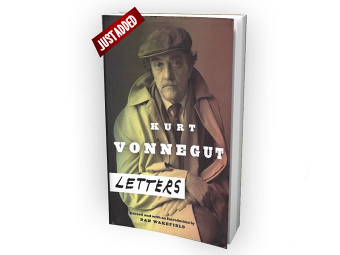$45: A revealing look at the real Kurt Vonnegut, through intimate correspondence with friends, family, colleagues, and fans. (PAPERBACK) Autographed by Nanny Vonnegut & Bob Weide. Also bundled with the Encyclopedia and Drawings book for $210.