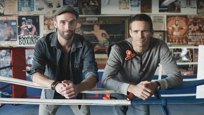 L-R: Pierre Lagadec & Matt Long
