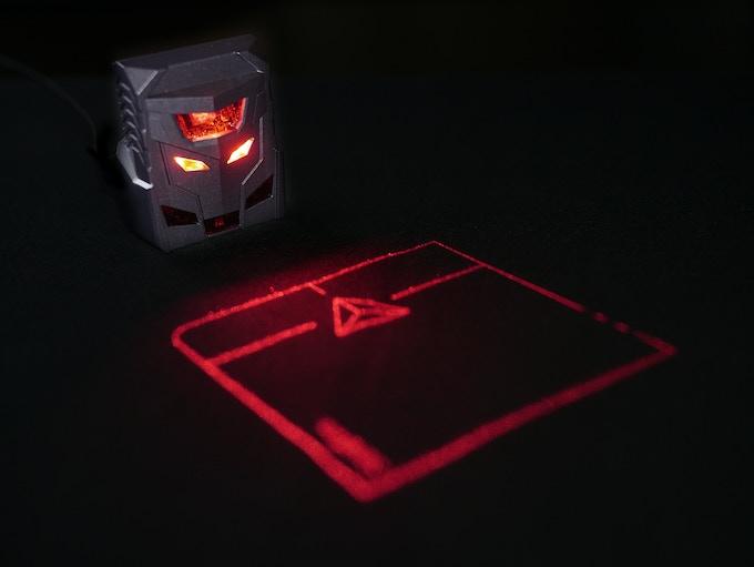 ODiN - World's first projection mouse by Serafim —Kickstarter