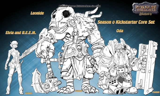 Core Character's Artist: Juan Caruso