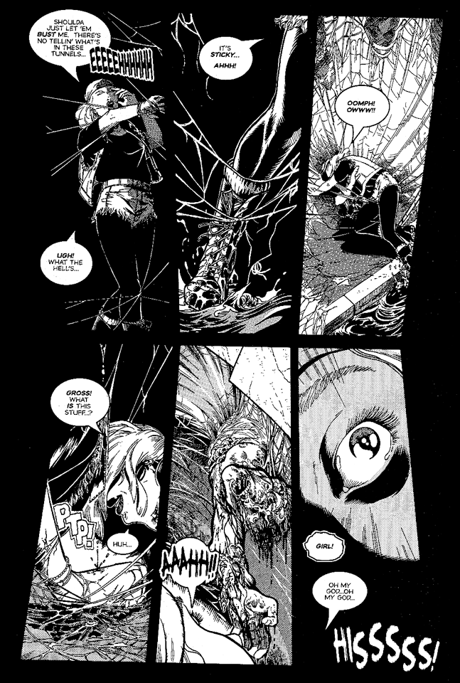 Sample page from KILL ME AGAIN