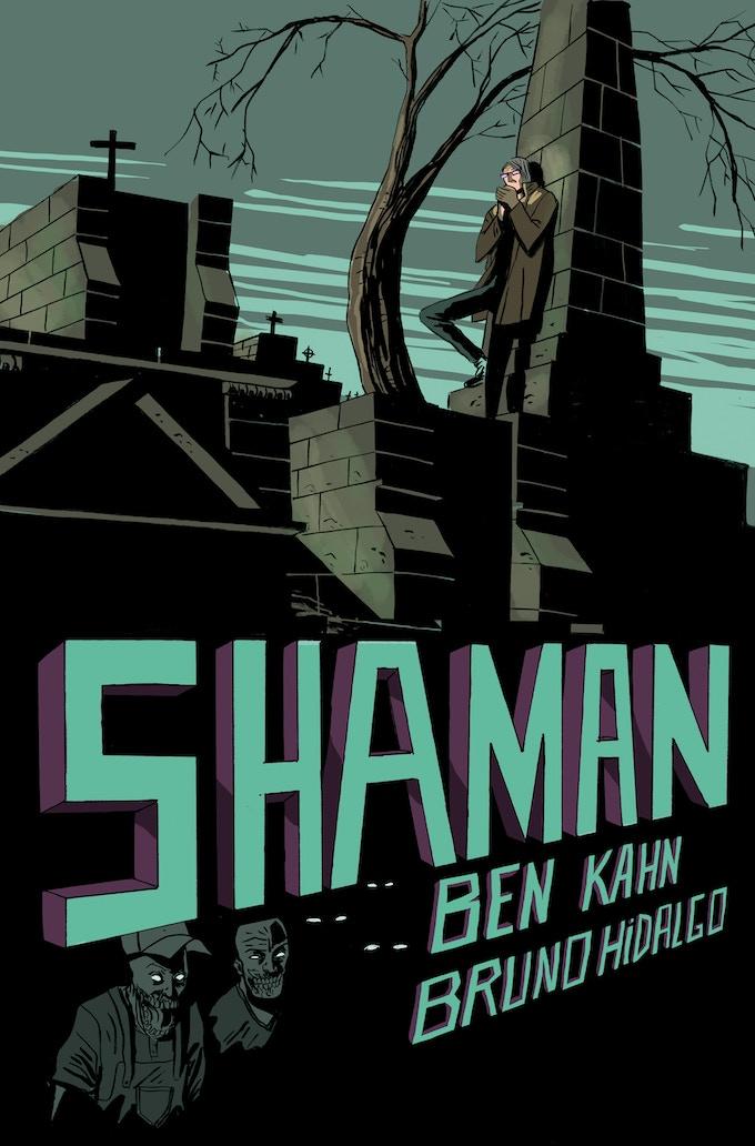 Shaman Print by Bruno Hidalgo