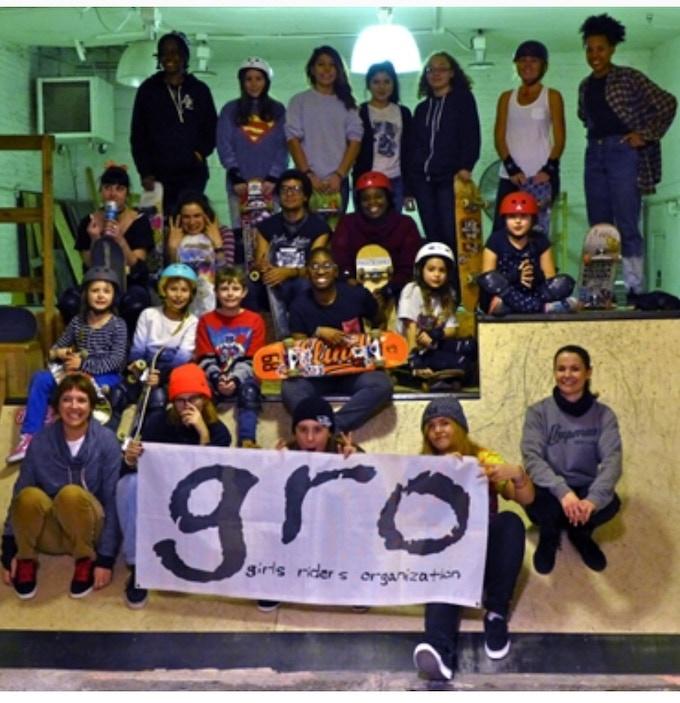 GRO Brooklyn skate group
