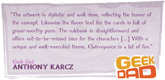 Click here for Anthony Karcz's full review at Geek Dad.