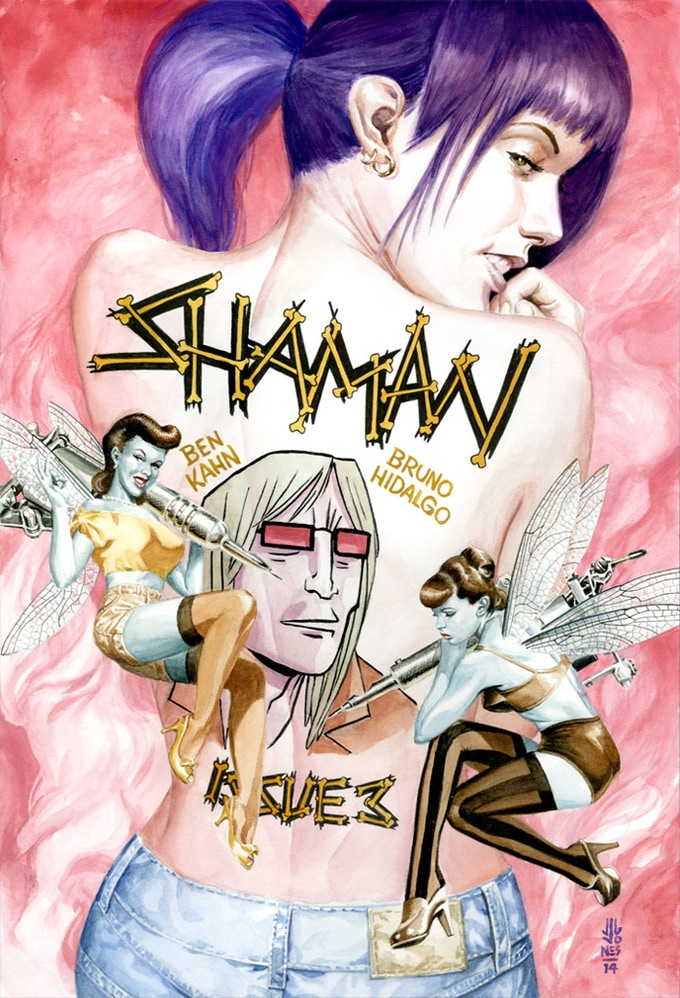 Shaman Print by JG Jones