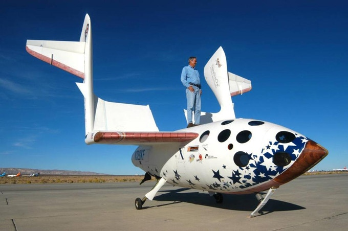 In 2004, Rutan and a team of three dozen people in the Mojave Dessert put the world's first commercial astronaut into space aboard Paul Allen's SpaceShipOne. They went on to win the $10 million dollar Ansari X-Prize and launch the age of space tourism.