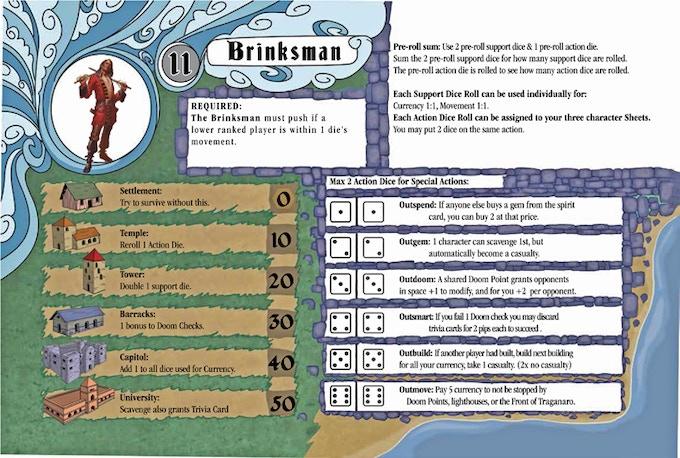 The Brinksman Player Sheet