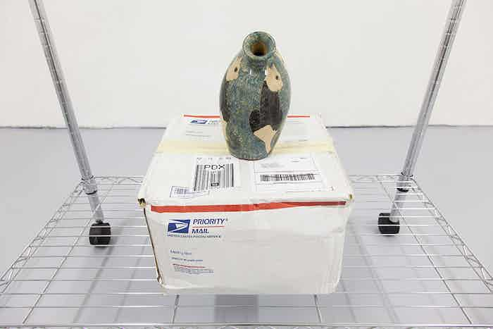 Ryder Ripps, Realtime Readymades, installation view, 2014. Conceptual eBay purchase.