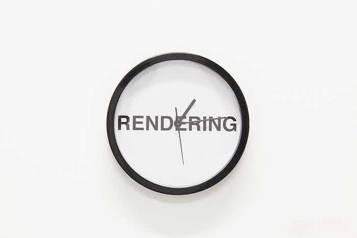 "Rick Silva, RENDERING, installation view, 2014. Custom 10"" wall clock."