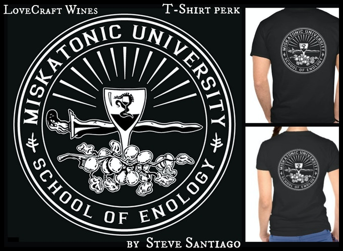 Miskatonic University Enology Shirt