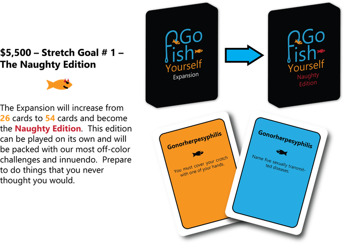 go fish yourself by the go fish yourself team kickstarter