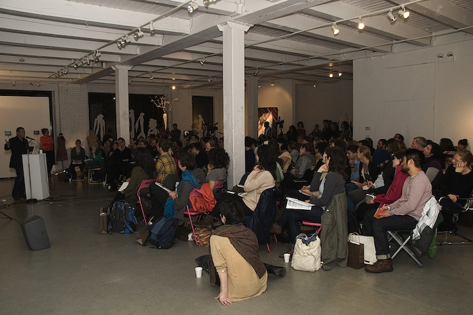 Hand in Glove conference, Keynote with curator Nato Thompson, Chicago 2011