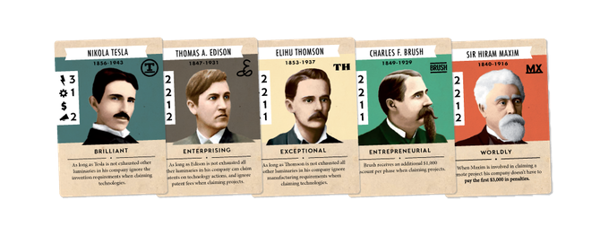 5 Inventor Cards